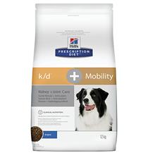 Hills Prescription Diet k\d Kidney Care + Mobility / Лечебный корм Хиллс для собак при Заболеваниях почек + Суставы