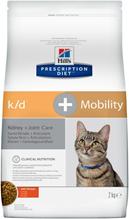 Заказать Hills Prescription Diet Feline k / d + Mobility Лечебный корм для кошек Заболевание почек + Суставы по цене 1790 руб