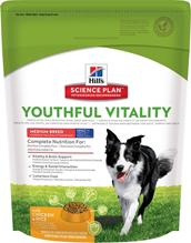Заказать Hills Science Plan Youthful Vitality Canine Medium 7+ Chicken / Сухой корм для Пожилых собак Средних пород Курица с рисом по цене 490 руб