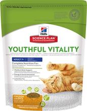 Заказать Hills Science Plan Youthful Vitality Feline 7+ Chicken / Сухой корм для Пожилых кошек Курица с рисом по цене 250 руб