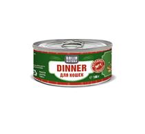 Заказать Solid Natura Dinner / Консервы Беззерновые для кошек Говядина Цена за упаковку по цене 1050 руб