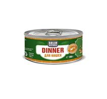 Заказать Solid Natura Dinner / Консервы Беззерновые для кошек Индейка Цена за упаковку по цене 1050 руб