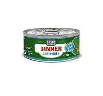 Заказать Solid Natura Dinner / Консервы Беззерновые для кошек Кролик Цена за упаковку по цене 1050 руб