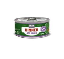 Заказать Solid Natura Dinner / Консервы Беззерновые для кошек Ягненок Цена за упаковку по цене 1050 руб