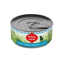 Родные Корма / Консервы Мясное угощение для Щенков с Перепелкой (цена за упаковку)