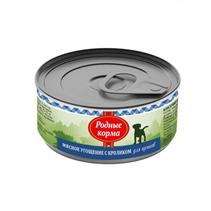 Родные Корма / Консервы Мясное угощение для Щенков с Кроликом (цена за упаковку)
