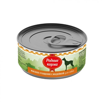 Родные Корма / Консервы Мясное угощение для собак с Индейкой (цена за упаковку)