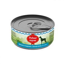 Родные Корма / Консервы Мясное угощение для собак с Перепелкой (цена за упаковку)
