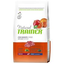 Trainer Natural Medium Adult Beef & Rice / Сухой корм Трейнер для взрослых собак Средних пород Говядина и Рис