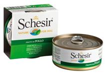 Schesir / Консервы для Собак Цыпленок (цена за упаковку)