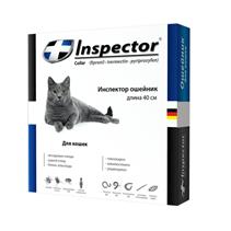 Заказать Inspector Collar / Ошейник против Внешних и Внутренних паразитов для кошек по цене 350 руб