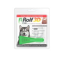 Rolf Club 3D / Капли Рольф Клуб от Клещей и Блох для собак весом 20-40 кг
