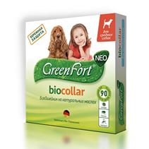 Green Fort Neo Biocollar / БиоОшейник Грин Форт Нео от Эктопаразитов для Средних собак