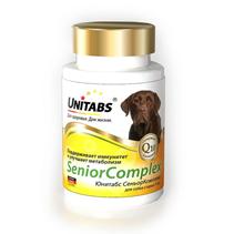 Unitabs Senior Complex UT c Q10 / Витаминно-минеральный комплекс Юнитабс для Пожилых собак старше 7 лет