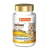 Unitabs ImmunoCat с Q10 / Витаминно-минеральный комплекс Юнитабс для кошек с Таурином