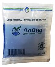 Лайна для животных / Средство для дезинфекции и уборки помещений Устраняет запахи и метки животных (саше)
