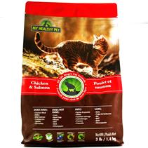 Заказать Holistic Blend My Healthy Pet Chicken & Salmon / Сухой корм для кошек Курица Лосось по цене 1990 руб