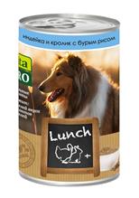 Vita Pro Lunch / Консервы Вита Про для собак Индейка Кролик Рис (цена за упаковку)