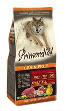 Primordial Adult Grain Free Holistic / Сухой корм Примордиал Беззерновой для собак Буйвол Макрель