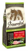 Primordial Urinary Grain Free Holistic / Сухой корм Примордиал Беззерновой для кошек с МКБ Индейка Сельдь