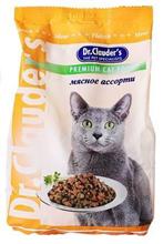 Заказать Dr Clauder / Мясное ассорти Сухой корм для кошек по цене 80 руб