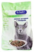 Заказать Dr Clauder / Мясное ассорти и овощи Сухой корм для кошек по цене 80 руб