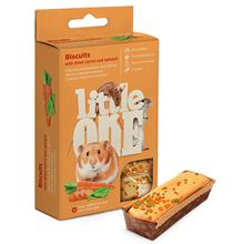 Little One Biscuits Dried Сarrot / Бисквиты Литтл Уан для Хомяков Крыс Мышей Песчанок с Морковью