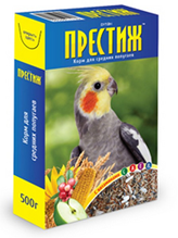 Заказать Престиж Корм для Средних попугаев по цене 90 руб