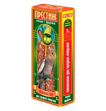 """Престиж / Лакомство """"Жесткие Палочки"""" для Средних попугаев с Овощами и Фруктами"""