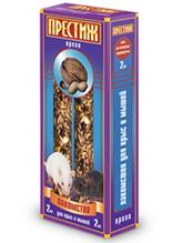 """Заказать Престиж Лакомство для Декоративных крыс и Мышей """"Жесткие Палочки"""" с Орехами по цене 100 руб"""