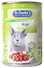 Dr Clauder Кусочки в соусе Дичь / Консервы Доктор Клаудер для кошек (цена за упаковку)