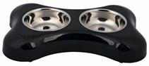 Заказать Trixie / Миски Металлические на Пластиковой подставке с Резиновыми ножками по цене 740 руб