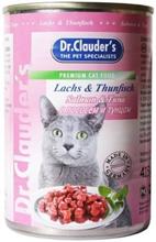 Заказать Dr Clauder / Кусочки в соусе Лосось и тунец Консервы для кошек Цена за упаковку по цене 1720 руб