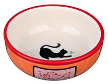 Trixie / Миска Трикси для кошек Керамическая (Цвета в ассортимете)