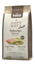 Bosch Soft Chicken & Banana / Полувлажный Монопротеиновый Беззерновой корм Бош для собак Курица Банан
