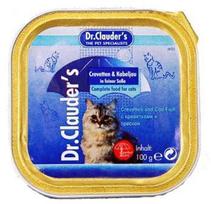 Dr Clauder Ламистер Креветки и треска / Консервы Доктор Клаудер для кошек (цена за упаковку)