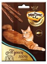 Мнямс Деликатес Лакомство для кошек Лакомые палочки 9 см Тунец
