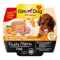 Заказать Gimdog Fruity Menu Pate Tuna & Apricot / Паштет для собак весом до 10 кг Индейка и Абрикос Цена за упаковку по цене 580 руб