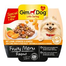 Заказать Gimdog Fruity Menu Ragout Lamb Apricot & Vegetables / Консервы для собак весом до 10 кг Рагу Ягненок Абрикос и Овощи Цена за упаковку по цене 580 руб