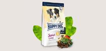 Заказать Happy Dog Junior Grainfree / Сухой Беззерновой корм для Юниоров в возрасте с 7 по 18 месяц Чувствительное пищеварение по цене 3390 руб