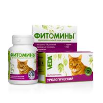 Veda Фитомины / Фитокомплекс Веда для кошек Урологический