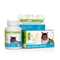 Veda Фитомины / Фитокомплекс Веда для кошек для Зубов и Костей