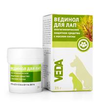 Veda Вединол / Зоогигиеническое Защитное средство для Лап с маслом Сосны