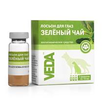 """Veda Фитоэлита """"Зеленый чай"""" / Зоогигиеническое средство Веда для глаз Лосьон"""