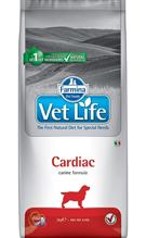 Farmina Vet Life Cardiac / Лечебный корм Фармина для собак для поддержания работы Сердца при хронической Сердечной Недостаточности