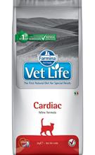Farmina Vet Life Cardiac / Лечебный корм Фармина для кошек для поддержания работы Сердца при хронической Сердечной Недостаточности