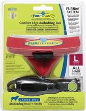 Заказать FURminator FURflex Comfort Edge deShedding Tool Large Dog / Комплект Фурминатор Фурфлекс против Линьки для Больших собак по цене 2850 руб