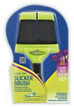 Заказать FURminator Large Firm Slicker Brush / Фурминатор Сликер Двухсторонний Жесткий Большой зубцы 15 мм по цене 1060 руб