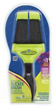 Заказать FURminator Small Firm Slicker Brush / Фурминатор Сликер Двухсторонний Жесткий Маленький зубцы 15 мм по цене 950 руб