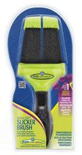 Заказать FURminator Small Soft Slicker Brush / Фурминатор Сликер Двухсторонний Мягкий Маленький зубцы 15мм по цене 950 руб